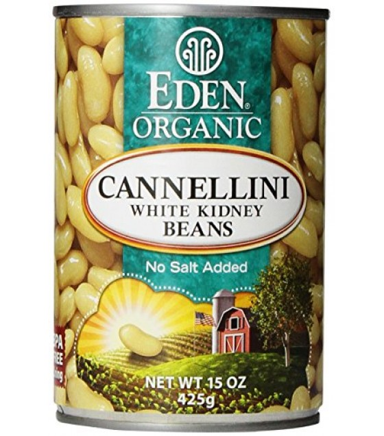 [Eden Foods] Organic Beans Kidney, White  At least 95% Organic