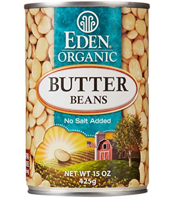[Eden Foods] Organic Beans Butter  At least 95% Organic