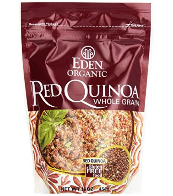 [Eden Foods] Whole Grains Red Quinoa  100% Organic