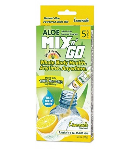 [lily Of The Desert] Mix N'go Aloe Drnk,lemon