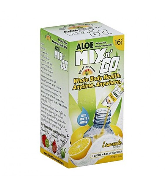 [Lily Of The Desert] Mix N Go-Alo Drink Lemon