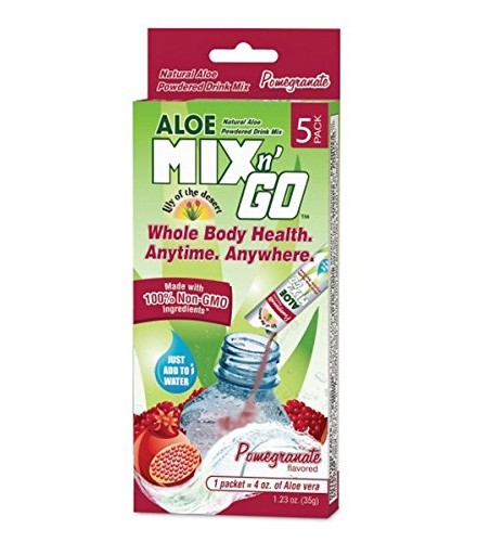 [lily Of The Desert] Mix N'go Aloe,pomgran