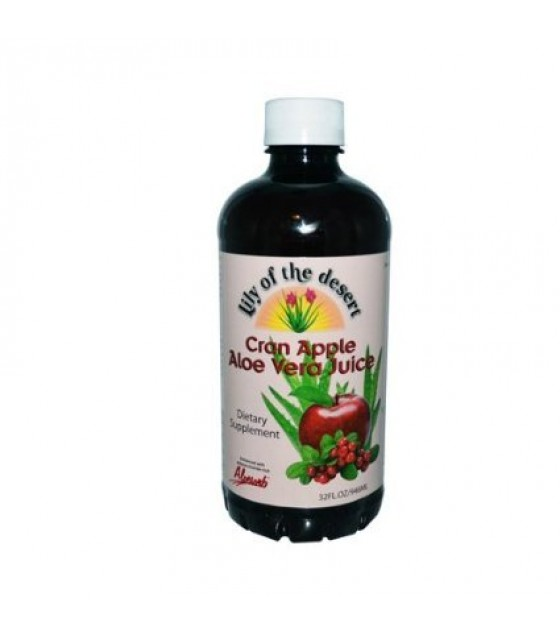 [Lily Of The Desert] Juices Aloe Vera, Cran Apple