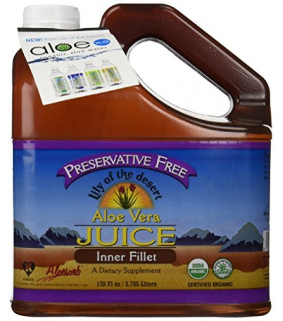 [Lily Of The Desert] Juices Aloe Vera, Preservative Free  At least 95% Organic