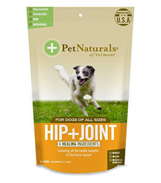 [pet Naturals Of Vermont] Hip & Joint,dog Chew