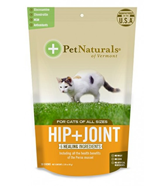 [pet Naturals Of Vermont] Hip & Joint Chews,cat