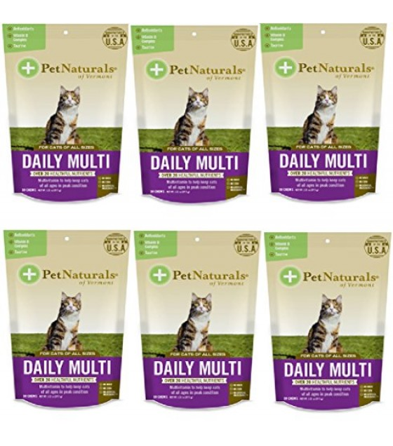 [pet Naturals Of Vermont] Multivitamin,daily,cats