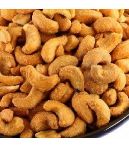 [Nuts]  Cashews, Whole, Roasted, Salted  At least 95% Organic