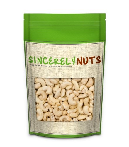 [Nuts]  Cashews, Whole, Raw  At least 95% Organic