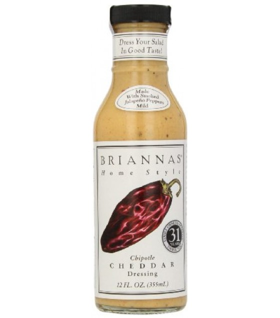 [Briannas] Salad Dressings Bottled Chipotle Cheddar