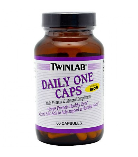 [Twin Lab] Multi-Vitamins & Minerals Daily One W/O Iron & Floraglo