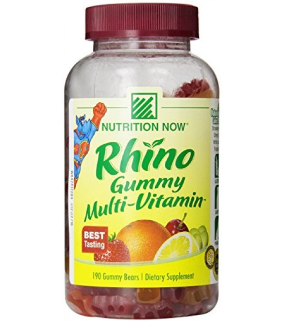 [Nutrition Now] Rhino Vitamins Multi, Gummy