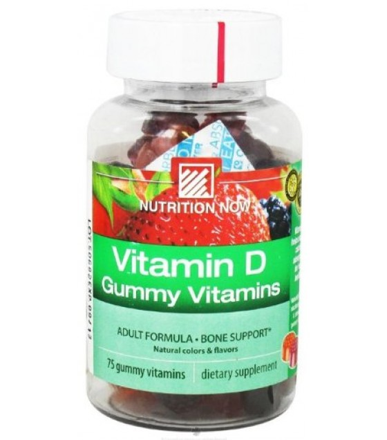 [Nutrition Now] Adult Gummy Vitamins Vitamin D