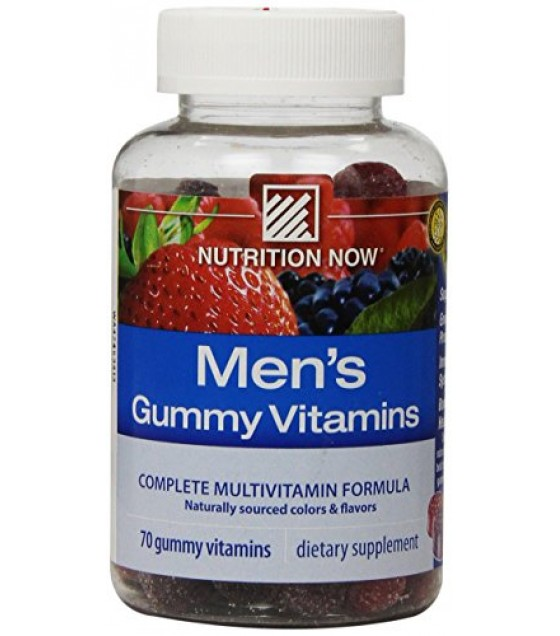 [Nutrition Now] Adult Gummy Vitamins Mens Complete Multi Vitamins
