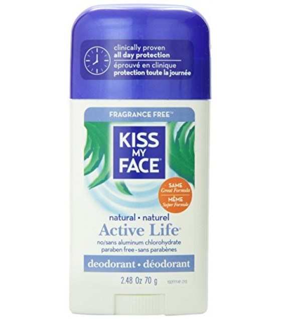 [Kiss My Face] Deodorants Active Life Fragrance Free