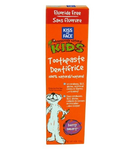 [Kiss My Face] Kiss Kids Berry Smart Toothpaste