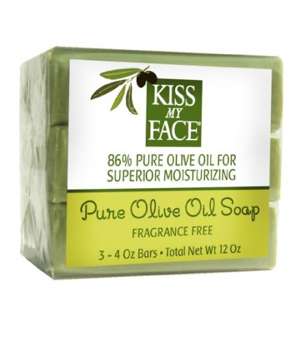 [Kiss My Face] Bar Soaps Pure Naked Olive Oil