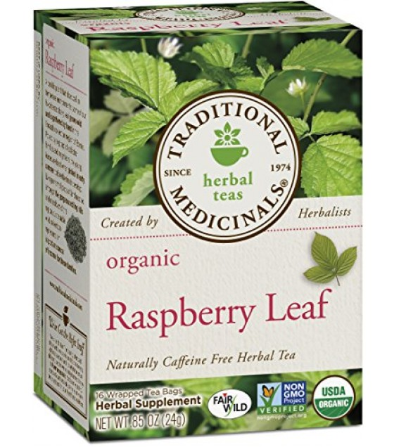 [Traditional Medicinals] Women`s Teas Raspberry Leaf  At least 95% Organic