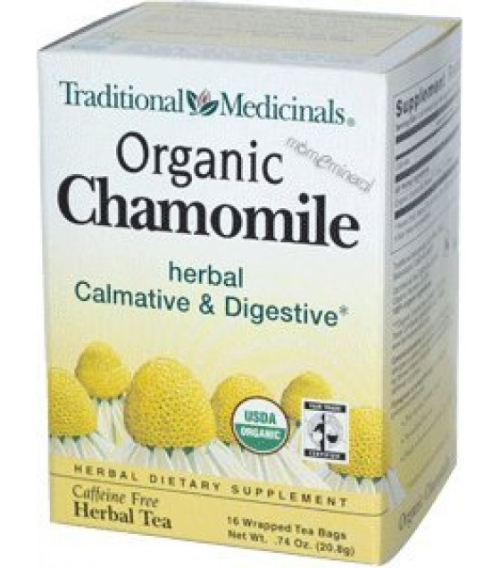 [Traditional Medicinals] Traditional Blends Chamomile  At least 95% Organic