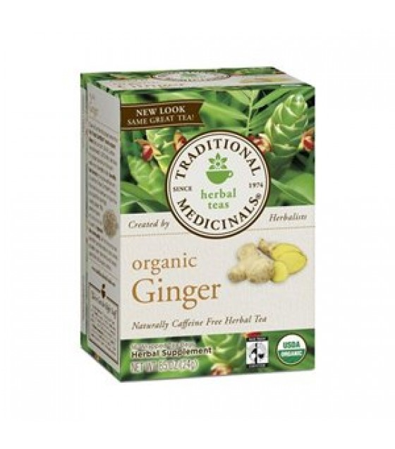 [Traditional Medicinals] Teas Ginger  At least 95% Organic