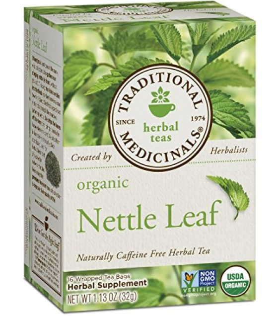 [Traditional Medicinals] Teas Nettle Leaf  At least 95% Organic