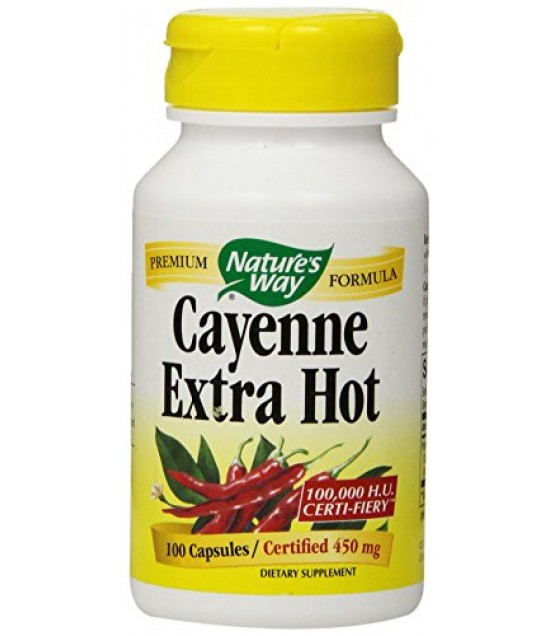 [Nature'S Way] CAYENNE,EXTRA HOT,10000HU