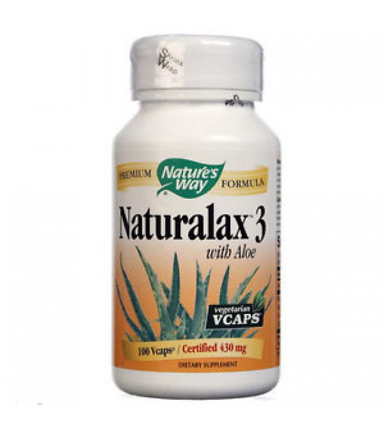 [Nature`S Way] Herbal Formulas Naturalax 3