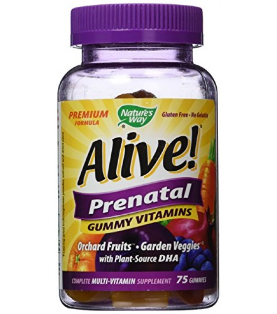 [Nature`S Way]  Alive,Gummy,Prenatal