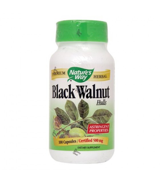 [Nature`S Way] Herbal Singles Black Walnut Hulls