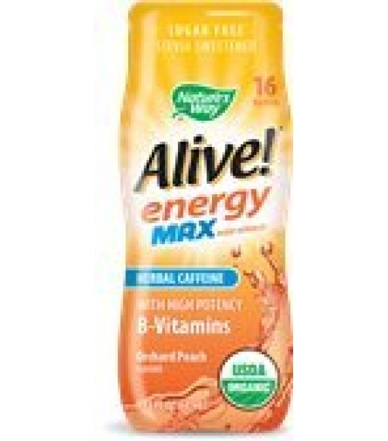 [nature's Way] Organic Alive! Energy Max; Peach