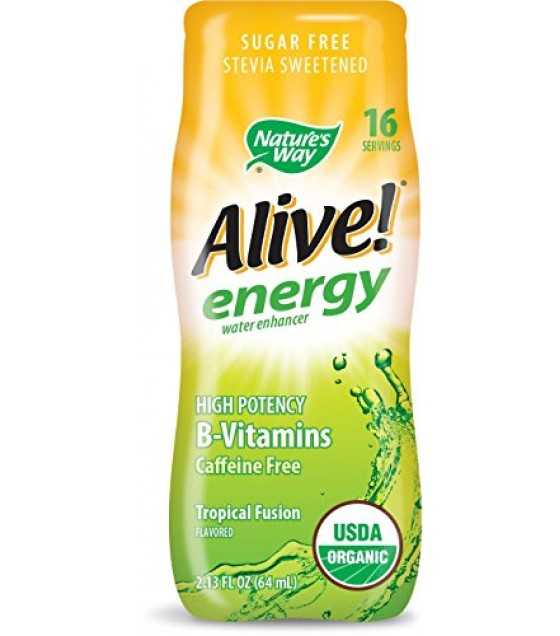 [nature's Way] Organic Alive! Energy; Tropical