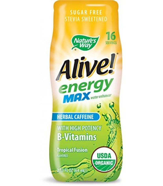 [nature's Way] Organic Alive! Energy Max; Tropical
