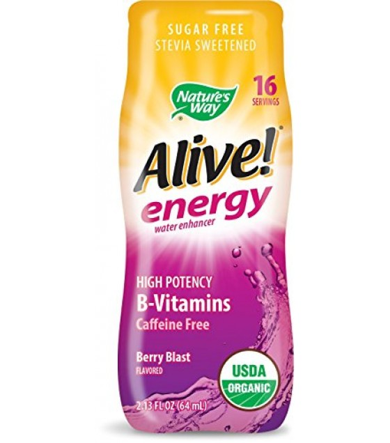 [nature's Way] Organic Alive! Energy; Berry