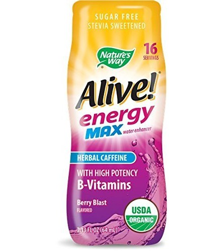 [nature's Way] Organic Alive! Energy Max; Berry