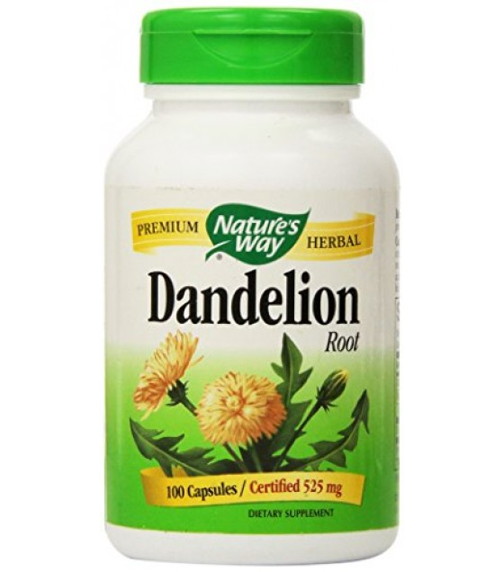 [Nature`S Way] Herbal Singles Dandelion Root