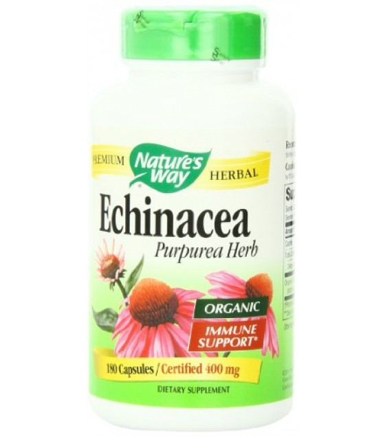 [Nature`S Way] Herbal Singles Echinacea Purpurea Herb  At least 70% Organic