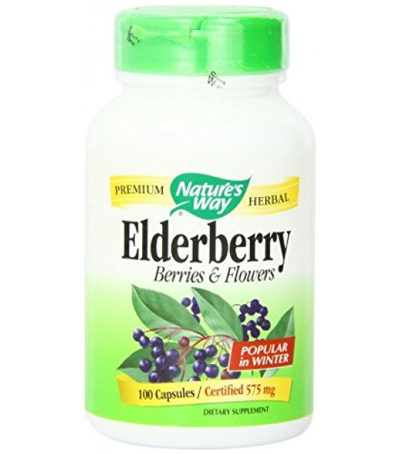 [Nature`S Way] Herbal Singles Elderberry