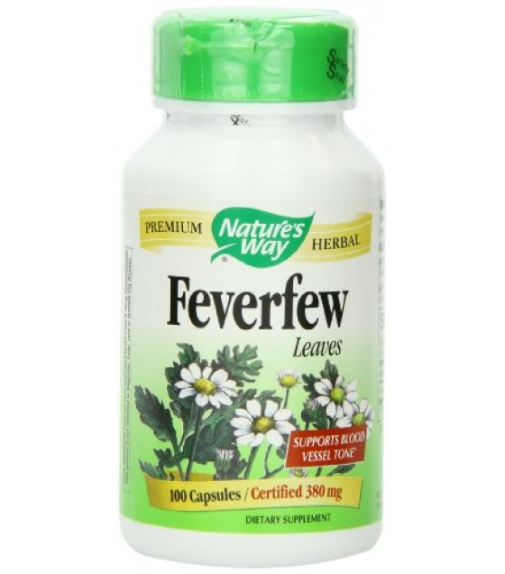 [Nature`S Way] Herbal Singles Feverfew