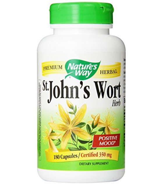 [Nature`S Way] Herbal Singles St. John`s Wort