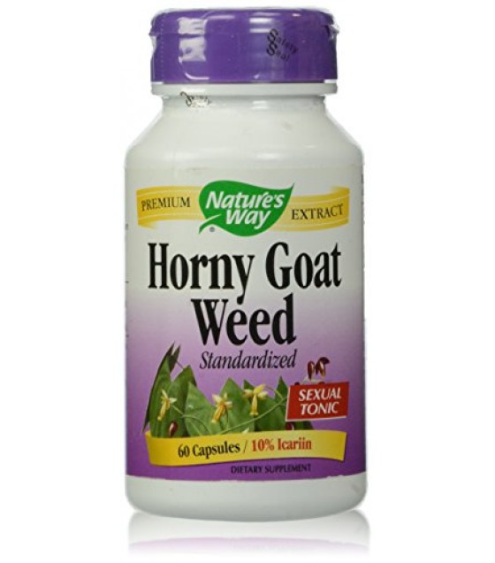 [Nature`S Way] Standardized Herbs Horny Goat Weed