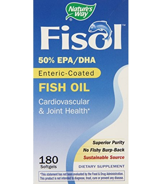 [Nature`S Way] Essential Fatty Acids Fisol Fish Oil
