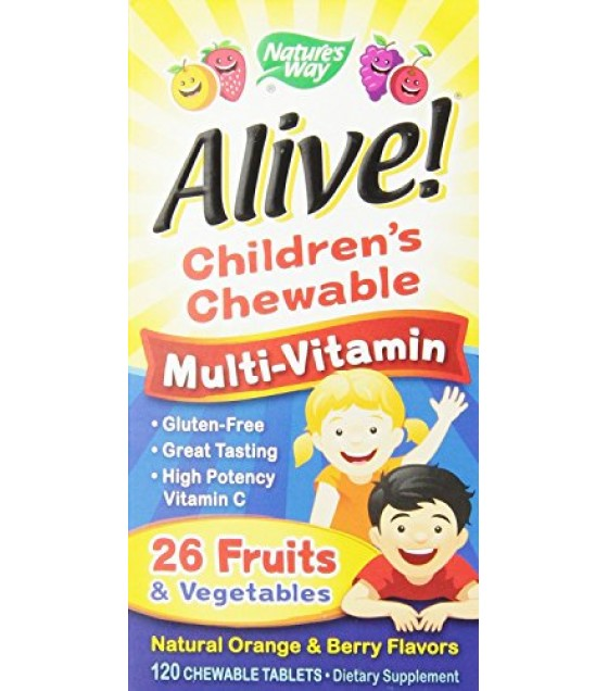 [Nature'S Way] ALIVE!MULTI-VIT,CHEW,KIDS
