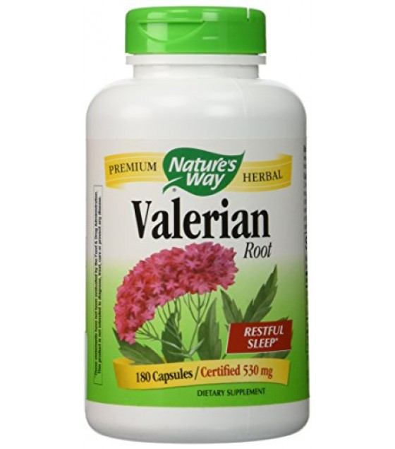 [Nature`S Way] Herbal Singles Valerian Root