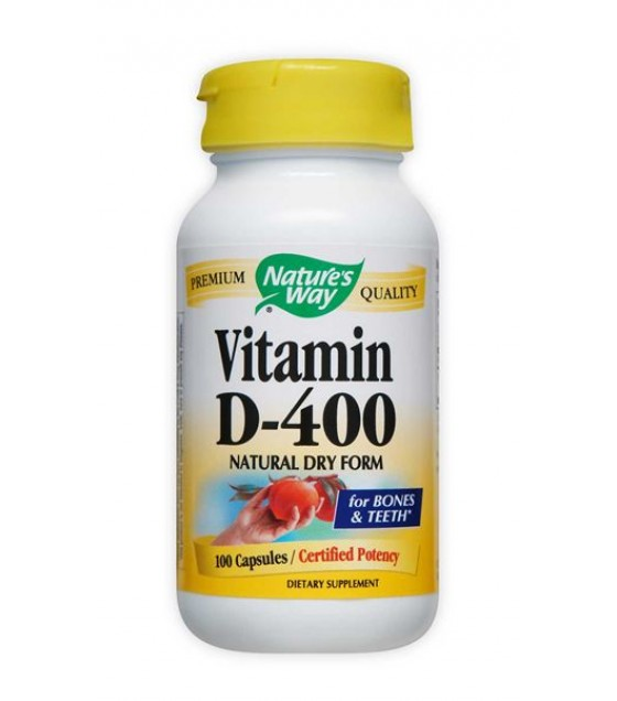 [Nature'S Way] DRY VITAMIN D 400 IU