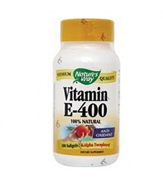 [Nature`S Way] Vitamin E 400 w/D Alkpha Tocopherols