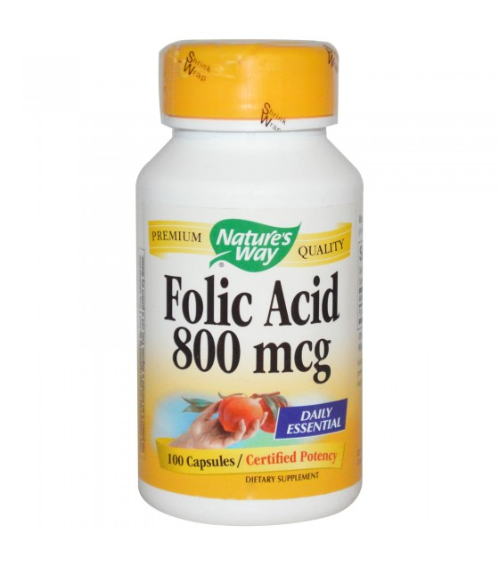 [Nature'S Way] FOLIC ACID,800 MCG