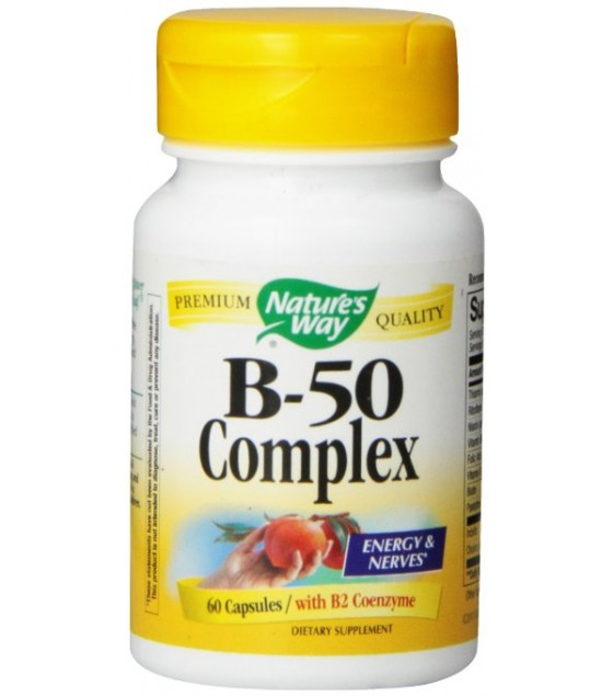 [Nature'S Way] B-50 COMPLEX 60 CAP