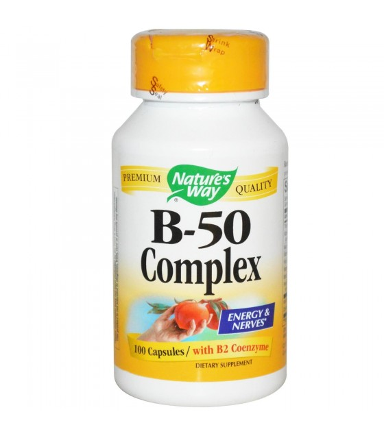 [Nature'S Way] B-50 COMPLEX 100 CAP