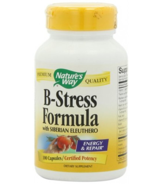 [Nature`S Way] Vitamin B B Stress w/ Siberian Ginseng