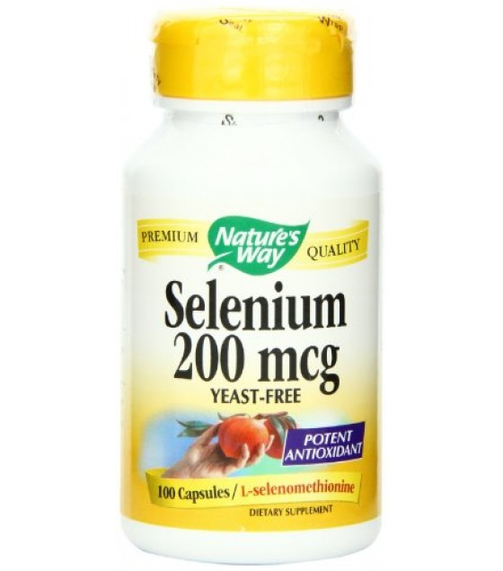 [Nature`S Way] Minerals Selenium 200 mcg